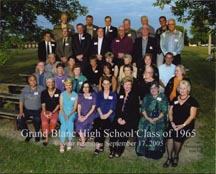 gRAND bLAND hISH sCHOOL 1065 40TH Reunion